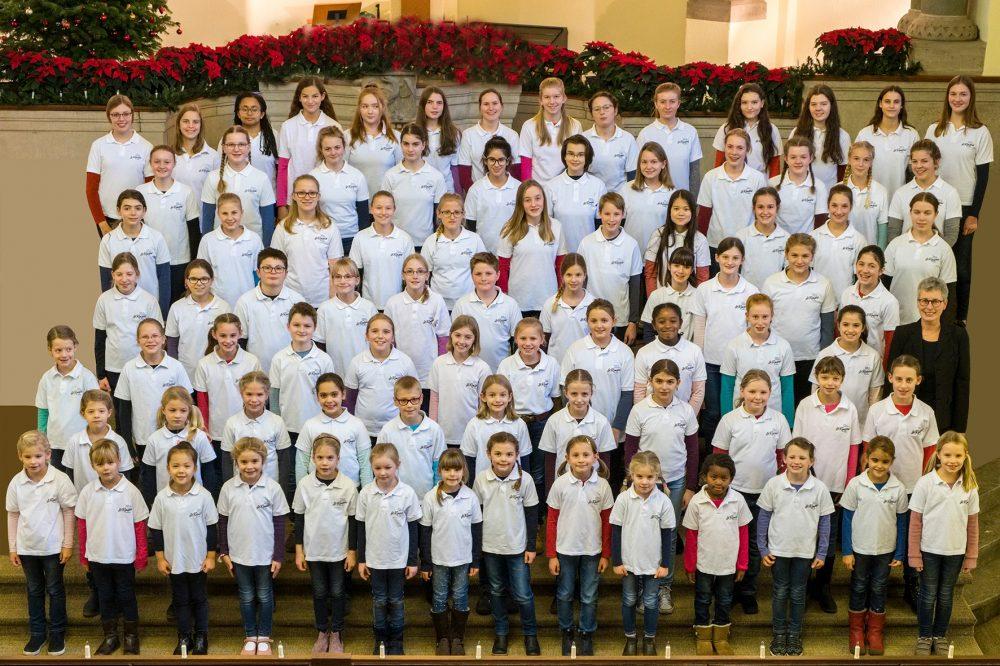 Gestaltet die Messe am Sonntag: Der Kinder-und-Jugendchor St. Remigius aus Düsseldorf. Foto: Chor
