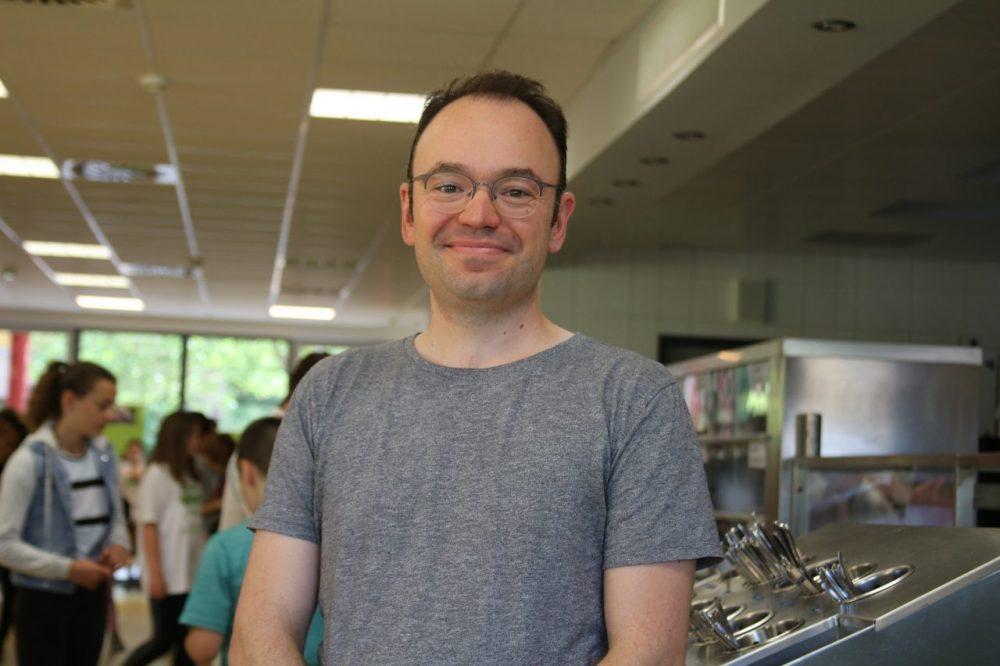 Lehrer Michael Hannaford hat das Klima-Dinner im letzten Jahr initiiert. Foto: André Volkmann