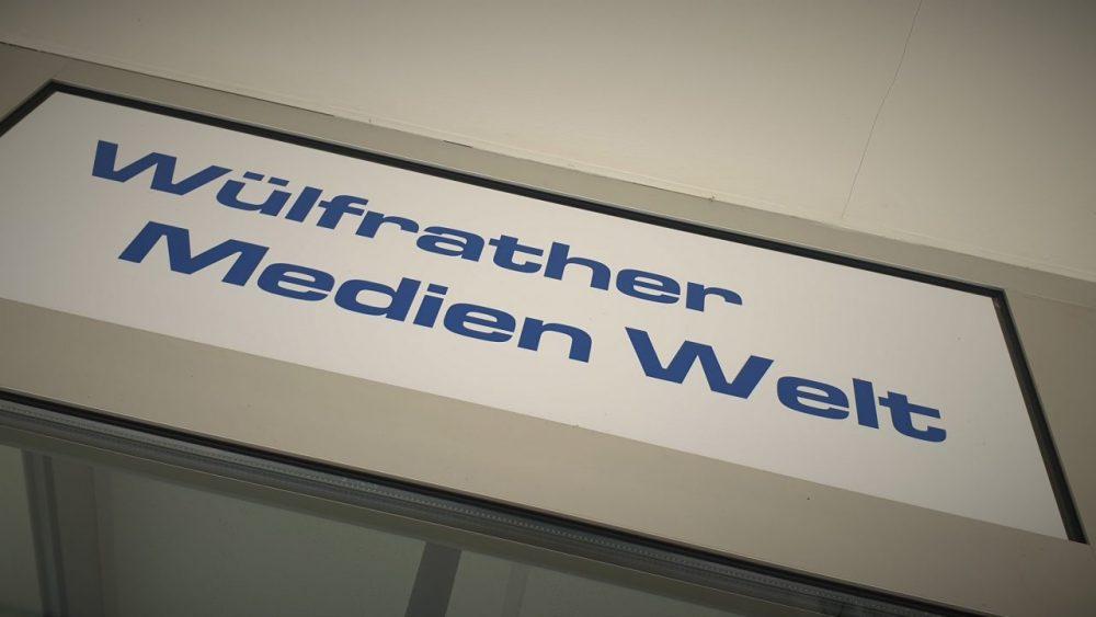 Die Wülfrather-Medien-Welt auf der Wilhelmstraße 146, direkt in der Fußgängerzone. Archivfoto: André Volkmann