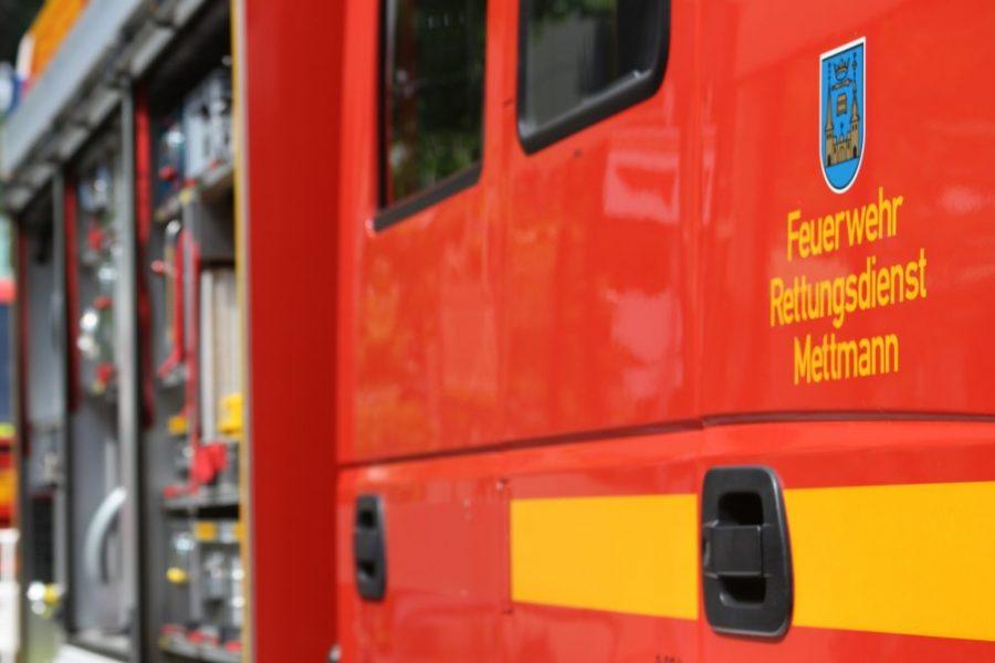 Im Stadtgebiet ist es zu einem Einsatz für die Mettmanner Feuerwehr gekommen. Foto: André Volkmann