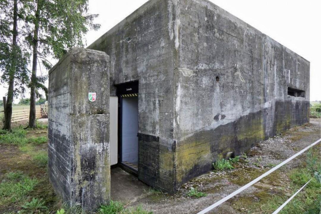 Der denkmalgeschützte ehemalige Leitbunker der Kruppschen Nachtscheinanlage. Foto: privat