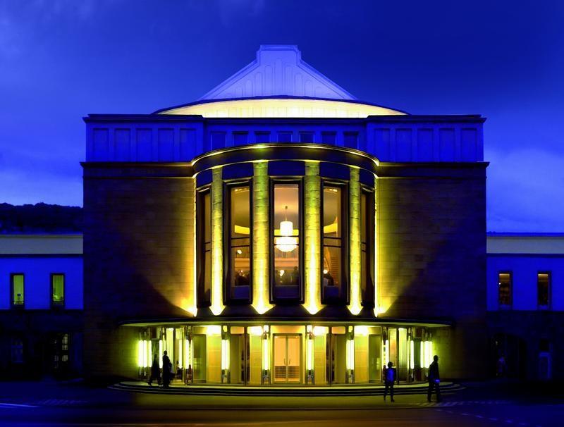 Das Opernhaus in Wuppertal. Foto: Andreas Fischer