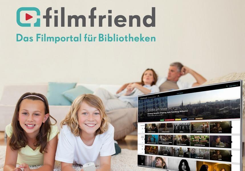 """Über die Stadtbibliothek kann man nun auch Filme des Portals """"Filmfriend"""" streamen. Foto: Stadt Ratingen"""
