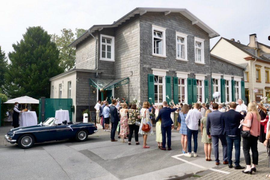 In der Mettmanner Kulturvilla wird auch geheiratet. Foto: Kulturvilla