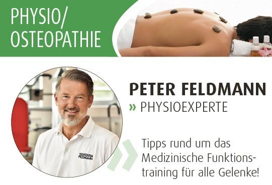 Expertentipps zu Osteopathie und Physiotherapie.