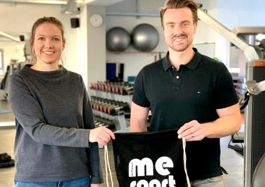 Laura Hayen und Marcel Fontein verantworten die Geschäftsführung des Vereins Mettmann-Sport seit Jahresbeginn. Foto: ME-Sport
