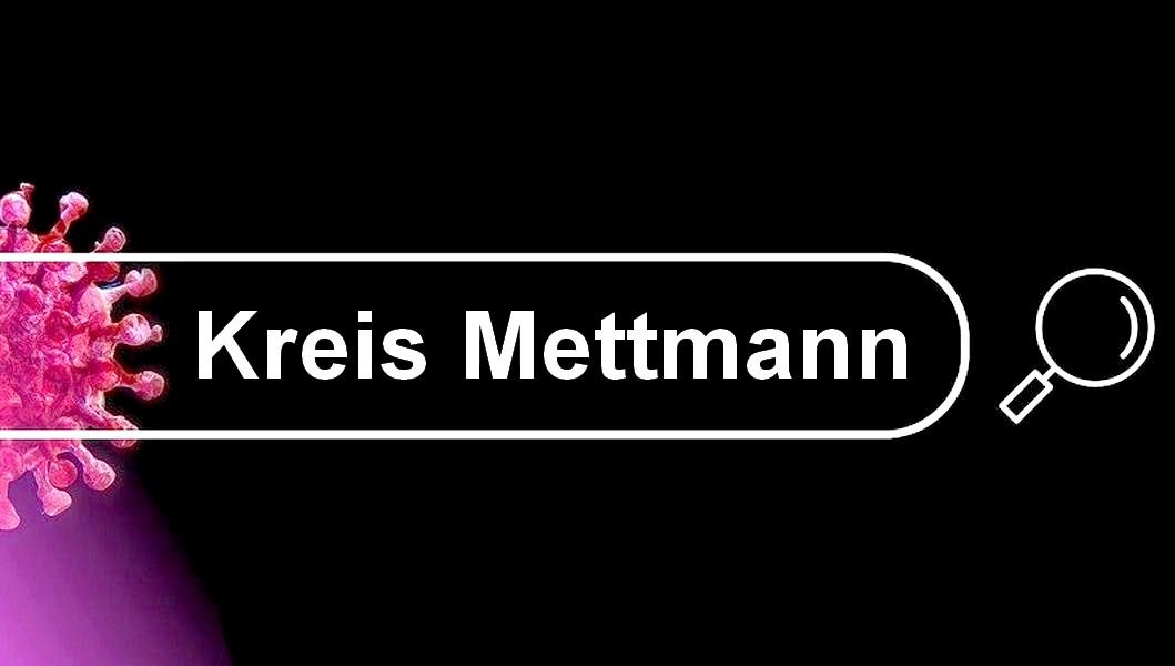 Die aktuellen Corona-Zahlen im Kreis Mettmann laut Kreisverwaltung. Bild: pixabay