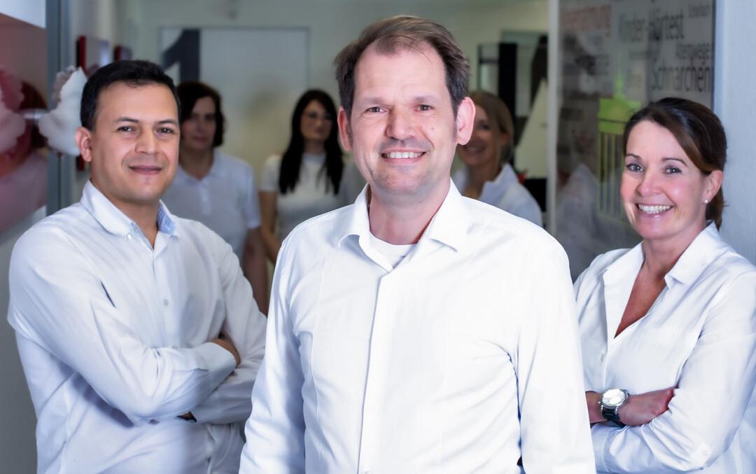 HNO-Fachärzteteam in Velbert und Neviges: Hossam Hasan, Jochen Brandenburg und Maren Frerichs