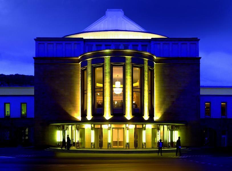 Im Wuppertaler Opernhaus können vorerst keine Events mit Publikum stattfinden. Foto: Opernhaus Wuppertal/ Andreas Fischer