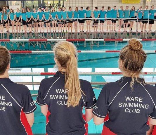 Statt Schwimmen vor Ort gab es eine virtuelle Alternative der Ware-Woche. Archivfoto: Mathias Kehren
