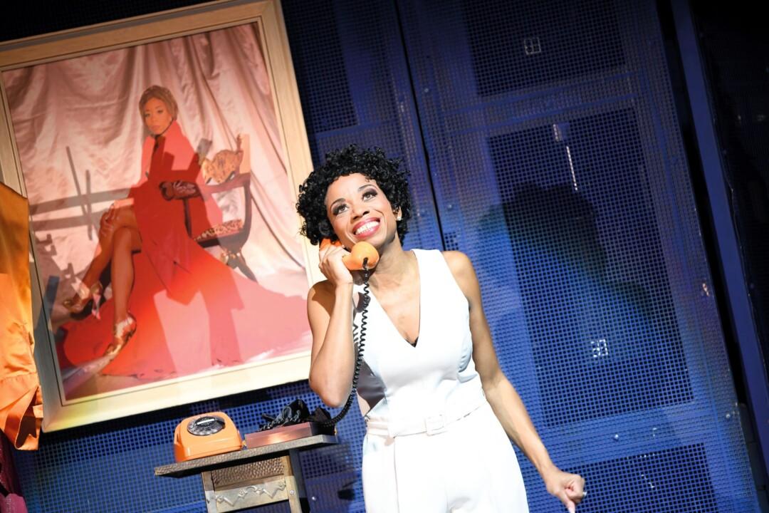 """Sopranistin Christina Clark als Penny in der Aalto-Musical-Produktion """"Yesterdate"""". Foto: Matthias Jung"""