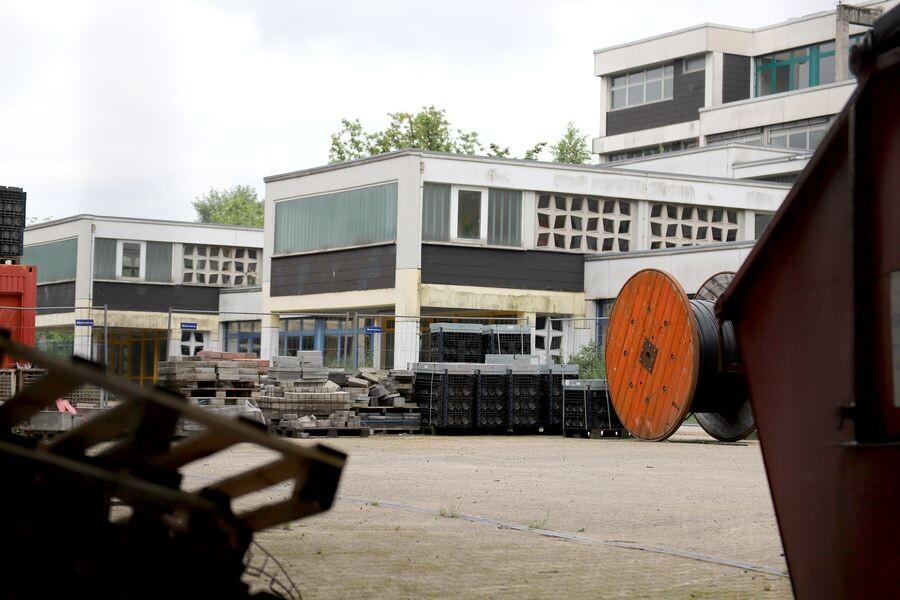 Die alte Hardenbergschule am Waldschlösschen soll Platz machen für einen Gesamtschulneubau. Foto: Volkmann