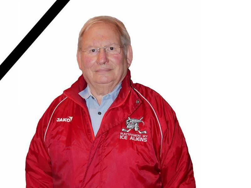 Horst Buder war seit fast 25 Jahren fester Bestandteil der Ratinger Ice Aliens. Foto: Ice Aliens