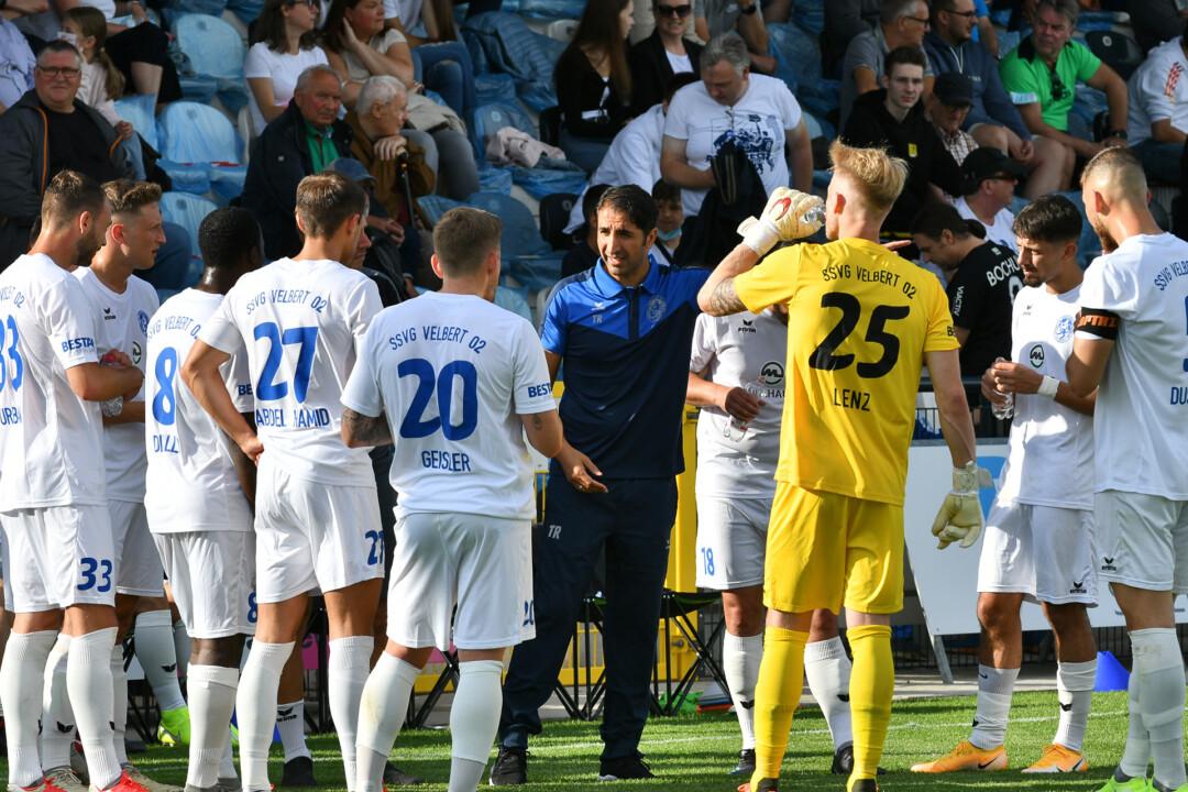 Die erste Mannschaft der SSVg Velbert hat zwei weitere Testspiele vor sich. Foto: Mathias Kehren