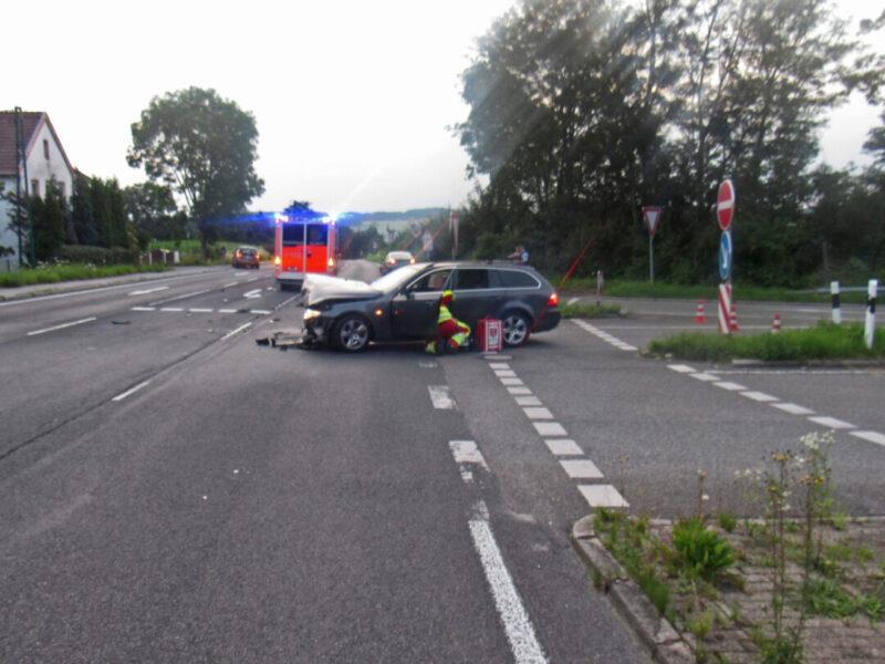 Die Unfallstelle an der A535 in Tönisheide. Foto: Polizei