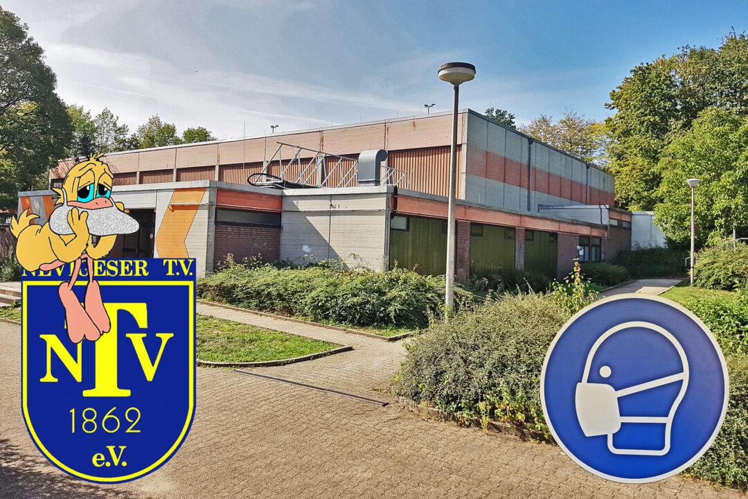 In der Halle Waldschlösschen findet die nächste Mitgliederversammlung des NTV statt. Fotomontage: NTV